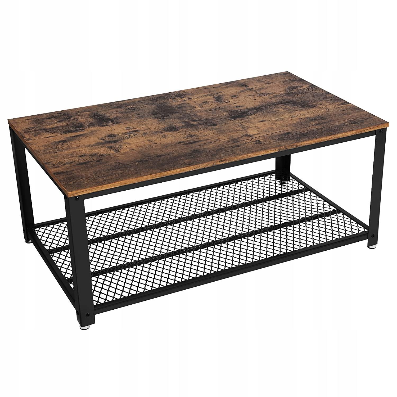 Купить Журнальный столик Bench Industrial Rustic Loft на Otpravka - цены и фото - доставка из Польши и стран Европы в Украину.