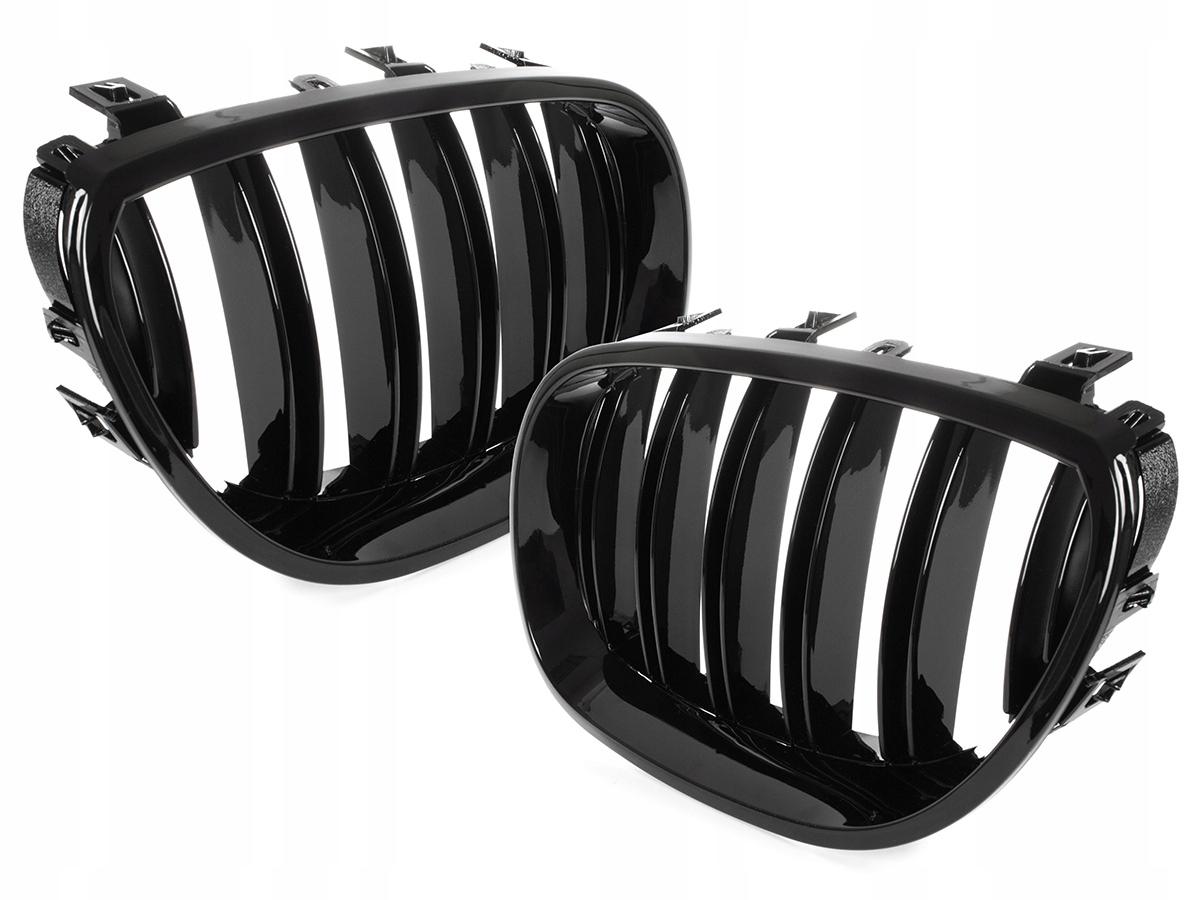 решетка гриль решетка почки bmw e60 e61 глянцевая black