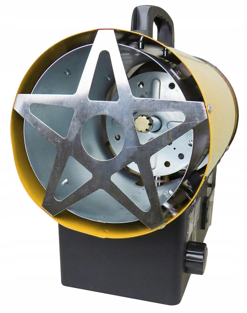 TEPELNÝ PLYNOVÝ FILTR 25KW LCD TERMOSTAT Hmotnosť výrobku v balení 5 kg