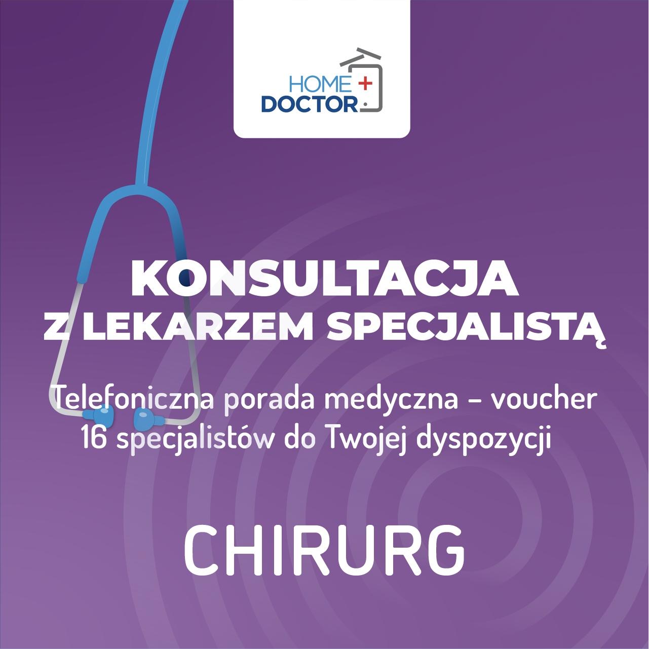 Teleconsultation s lekárom chirurgov - poukážka