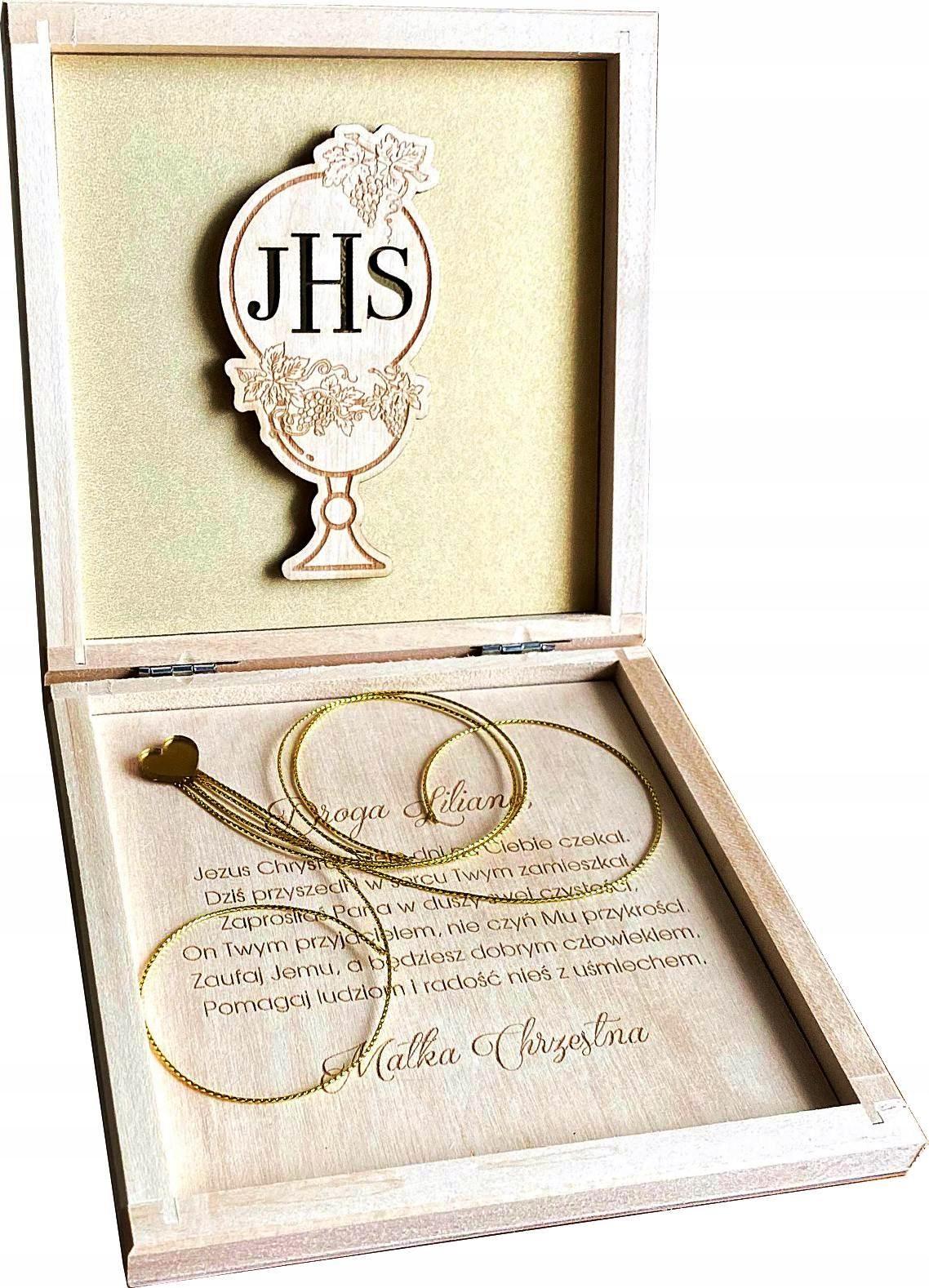 Денежная подарочная коробка и святое причастие