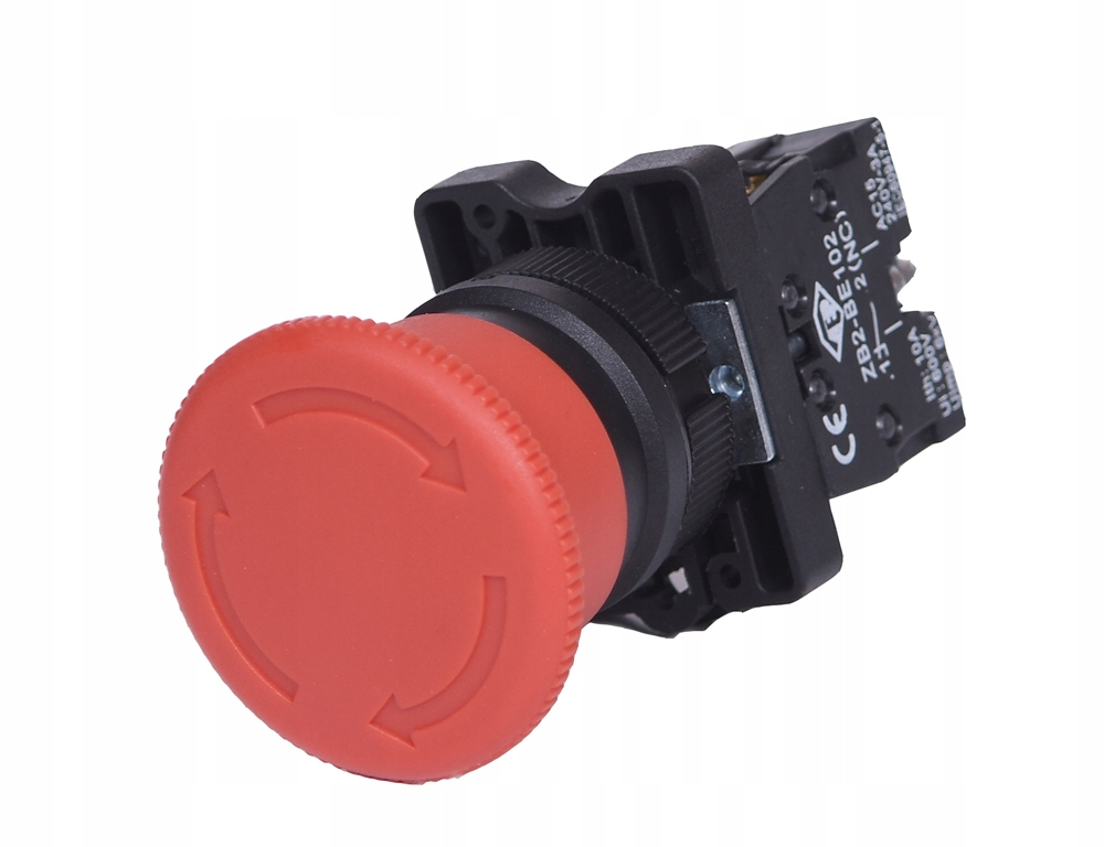 Пластиковая предохранительная кнопка XB2-ES542