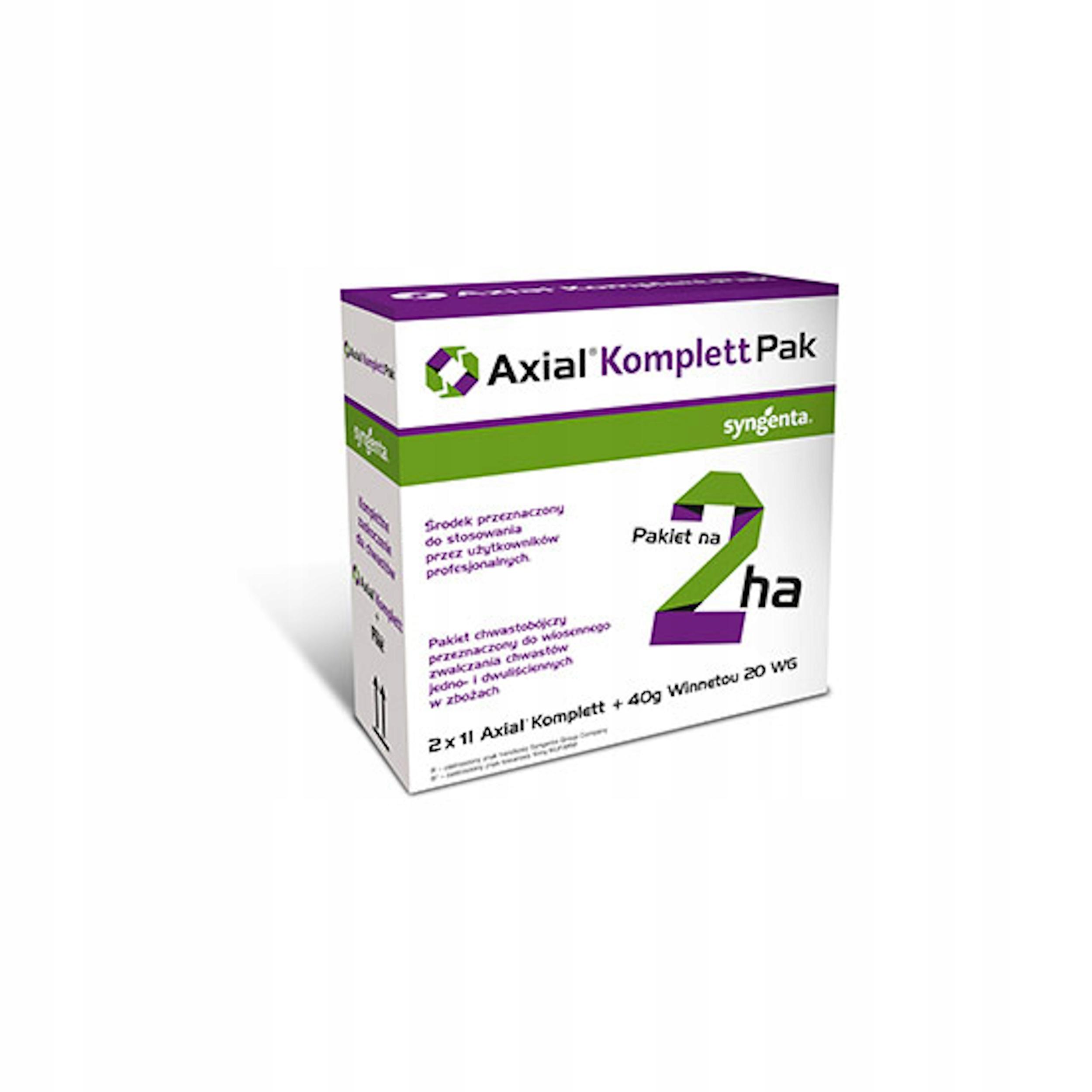 AXIAL KOMPLETT PAK (Axial 2x1L + Winnetou 20WG 40G)