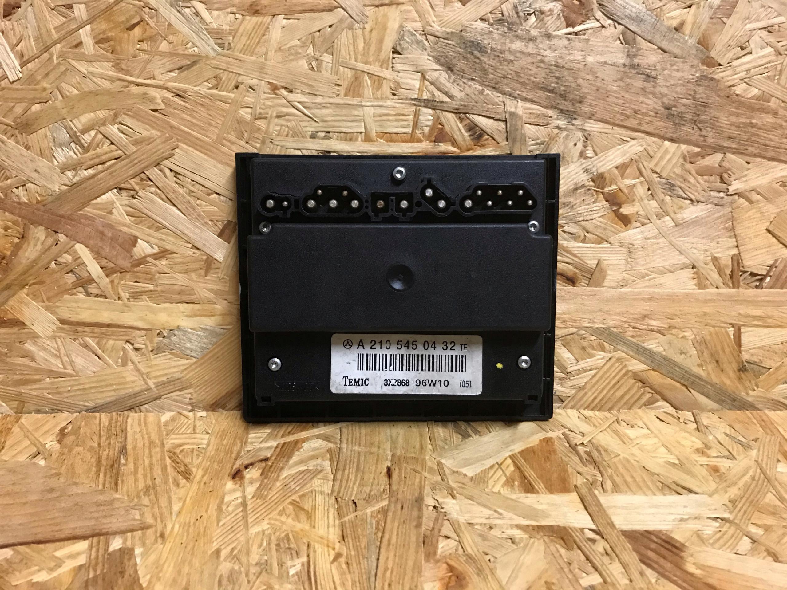 драйвер вентилятора мб e-klasa w210 a2105450432