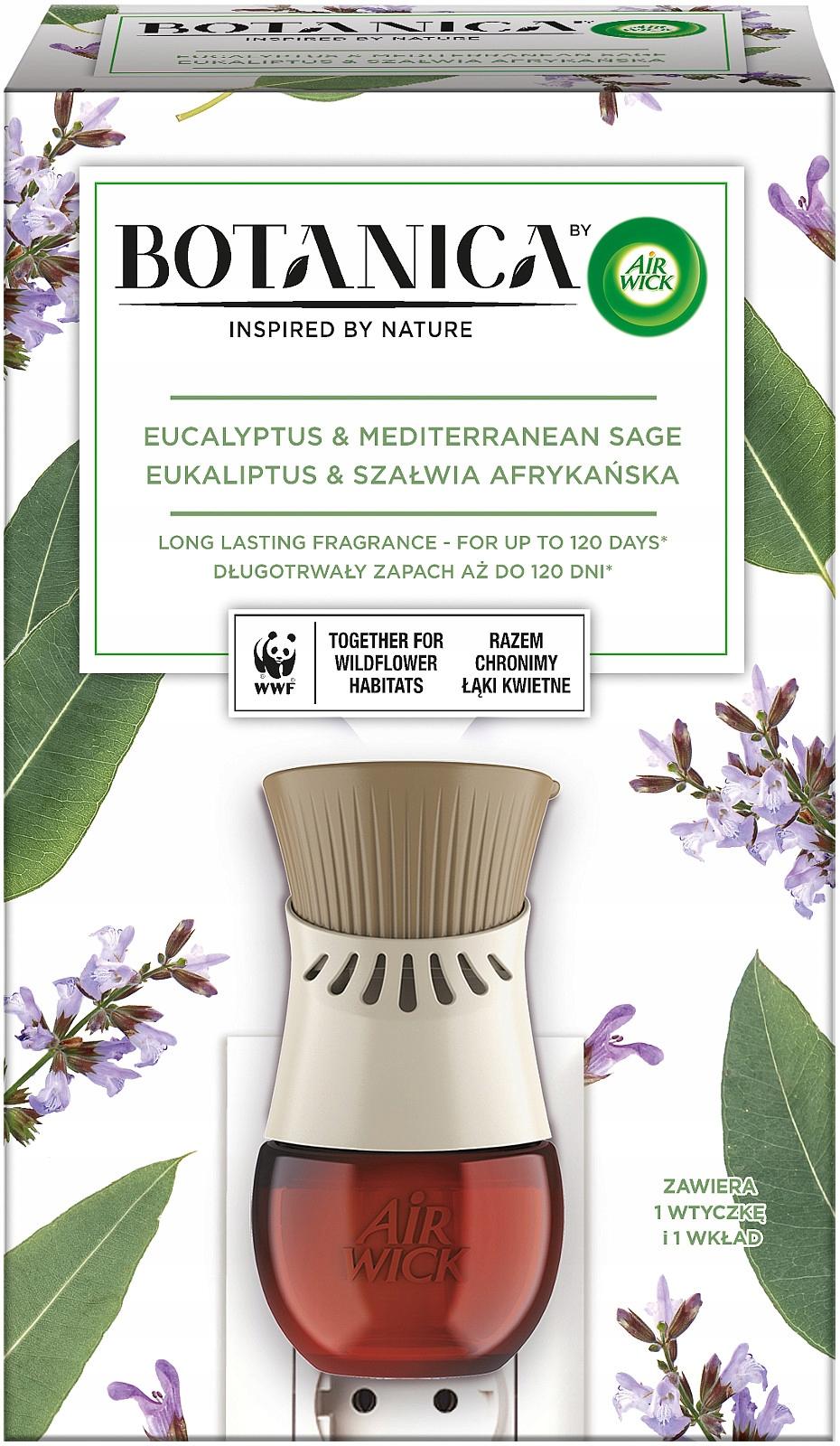 Электрический освежитель воздуха Botanica by Air Wick Complete
