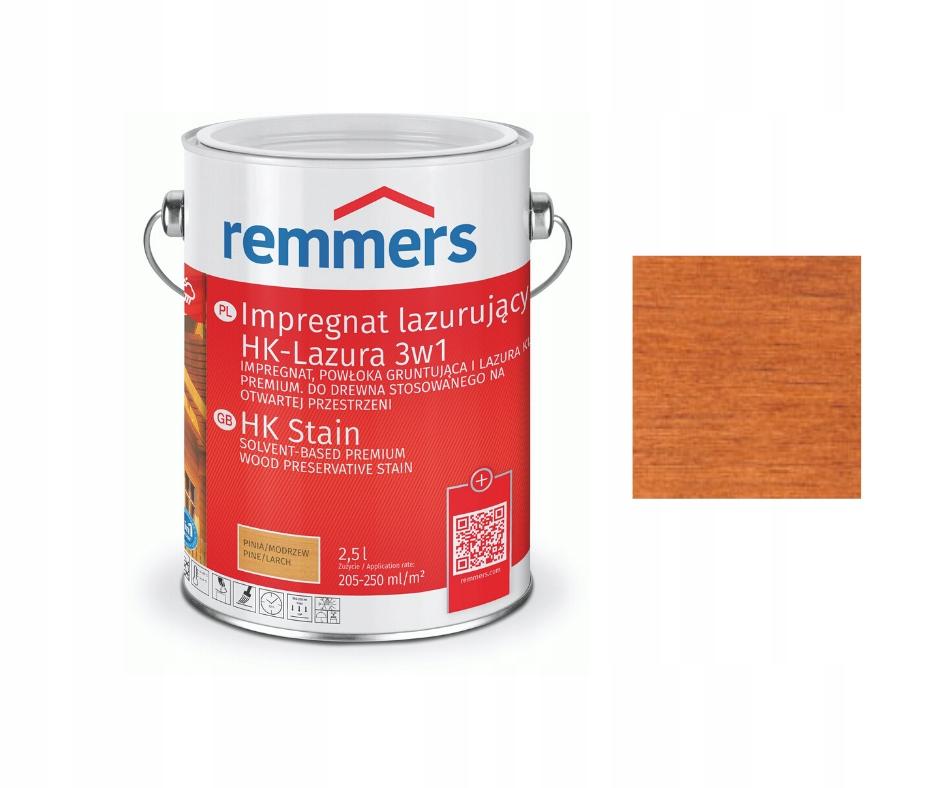 Remmers hk lasur 2,5 л лазурь для древесины 3 в 1 ТИК