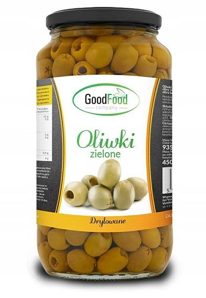 GOODFOOD - Oliwki zielone całe 935g