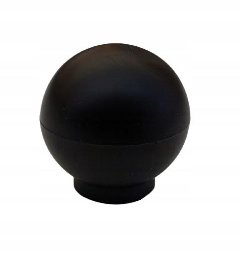Мебельная ручка K1 Knob Ball Black Mat + винты