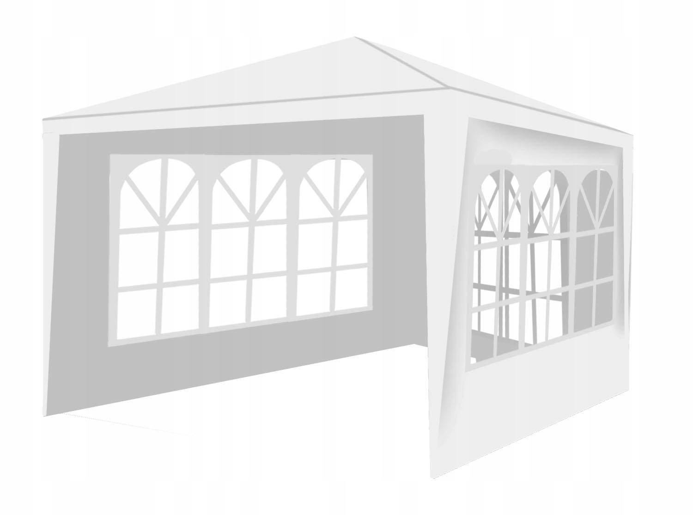 Komerčný stan Záhradný pavilón + 3 steny 3x3m Typ PE plášťa