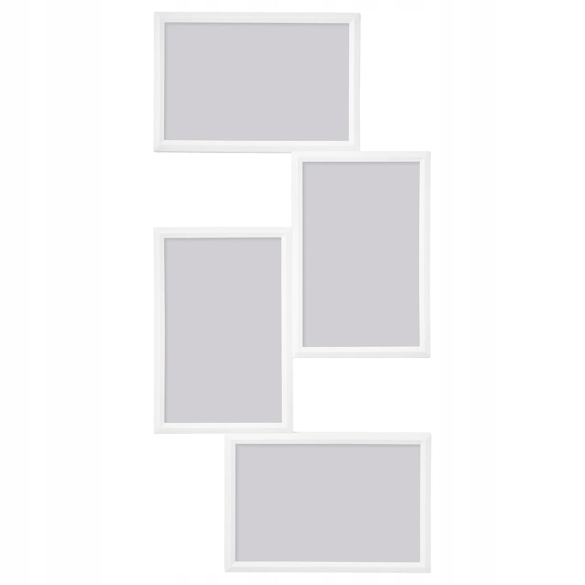 IKEA YLLEVAD Ramka na 4 zdjęcia 10x15 BIALA 21x41