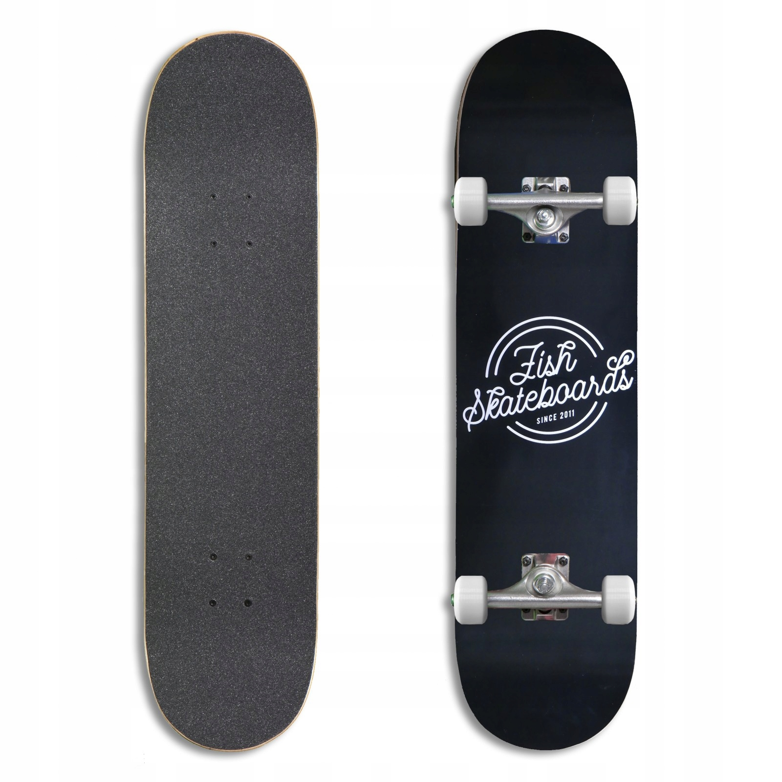 Výkonný skateboard Fishskateboards Retro 8.0