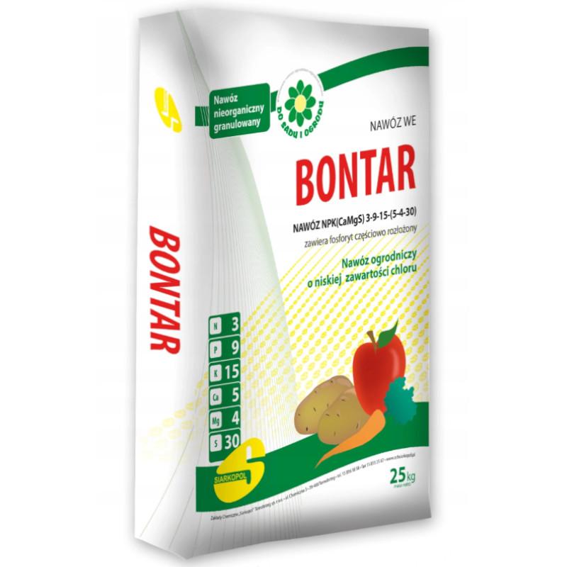 Садовое удобрение для овощей и фруктов БОНТАР 25кг