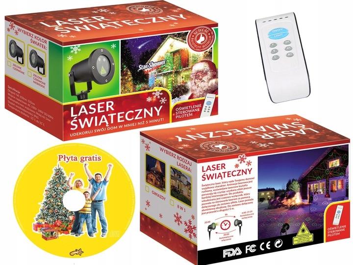 Projektor Laserowy świąteczny Dwa W Cenie Jednego 9780449408 Allegro Pl