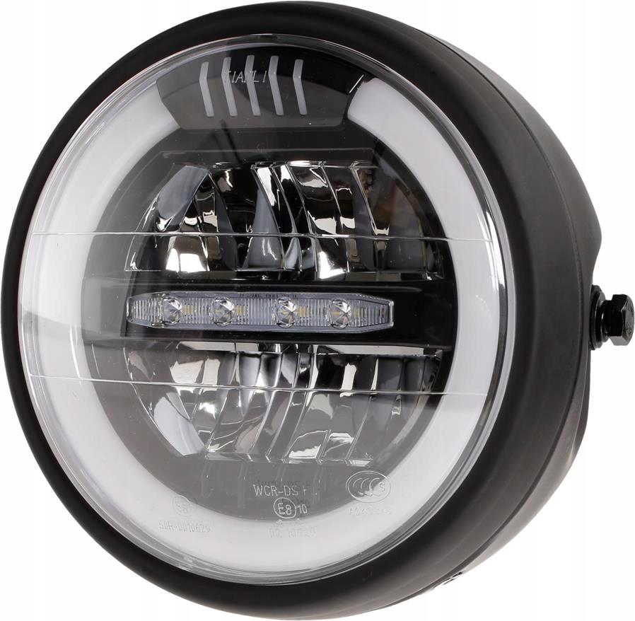 Фара светодиодная передняя лампа одобрения мотоцикла