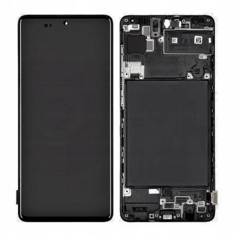 ORG wyświetlacz Samsung A71 SM-A715F - czarny 9114426570 - Allegro.pl