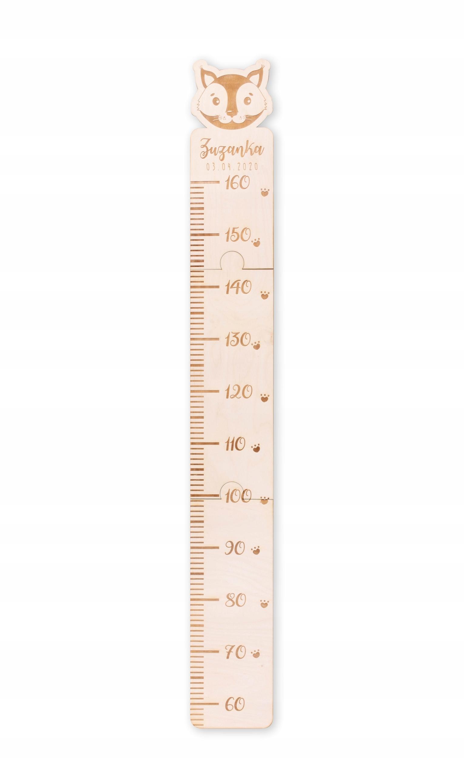 Измерение высоты для детских имен животных!