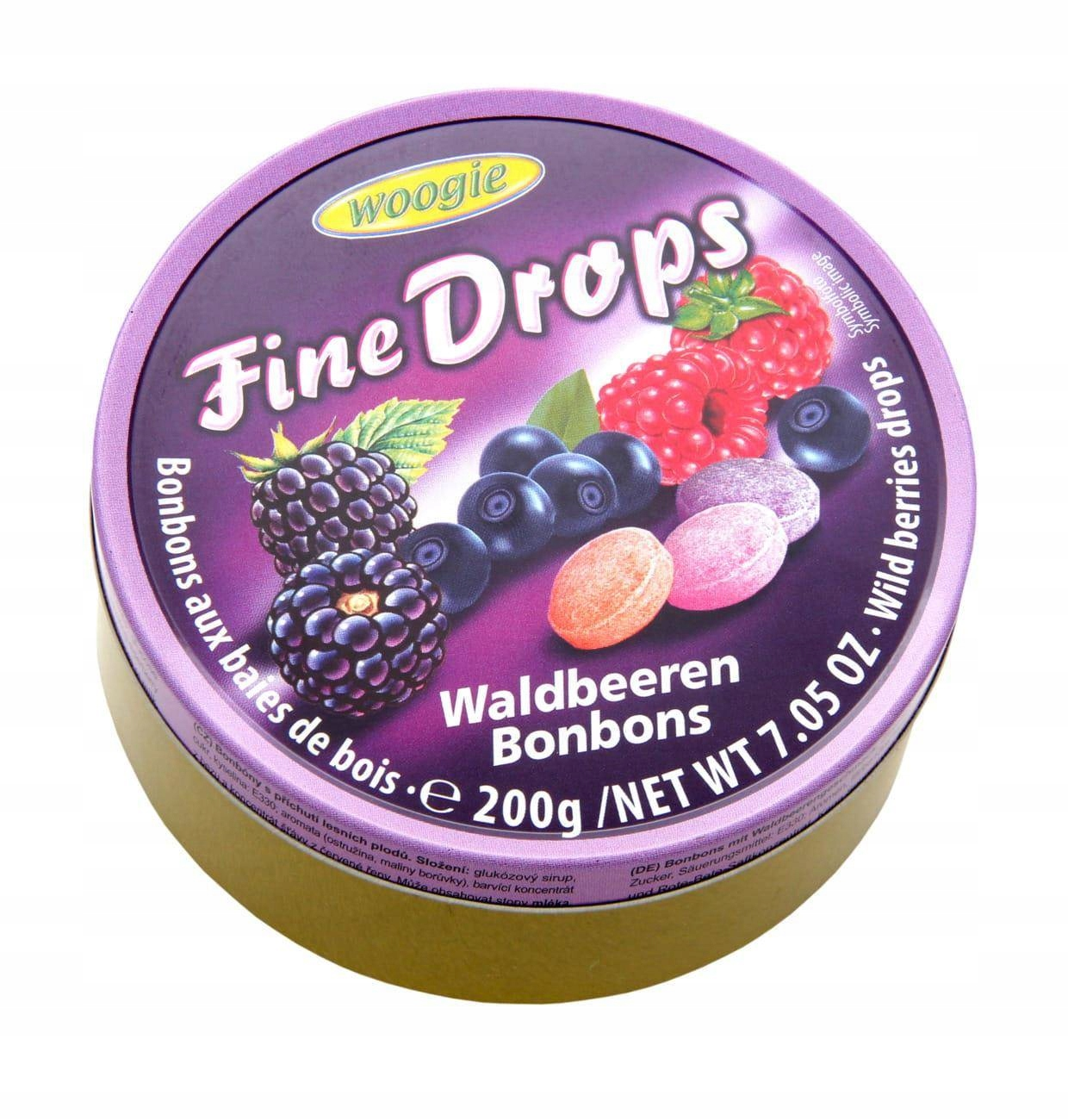 Консервы Woogie Hard Candy Forest Fruits 200 г