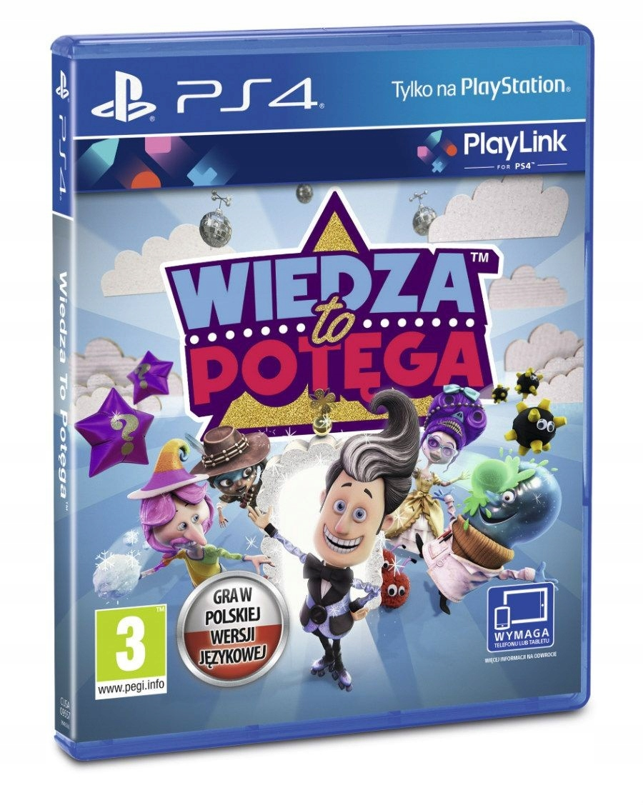 Item Knowledge Is Power PS4 IN POLISH BUZZ