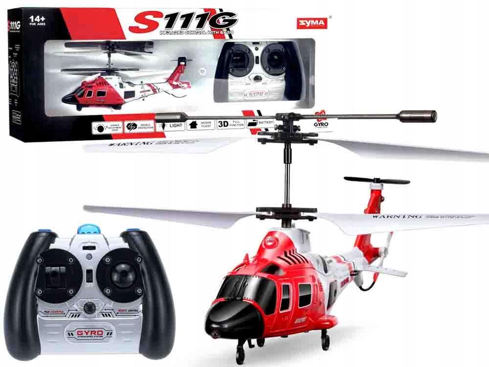 Helikopter Syma S111G sterowany na pilota RC0541 Marka Syma