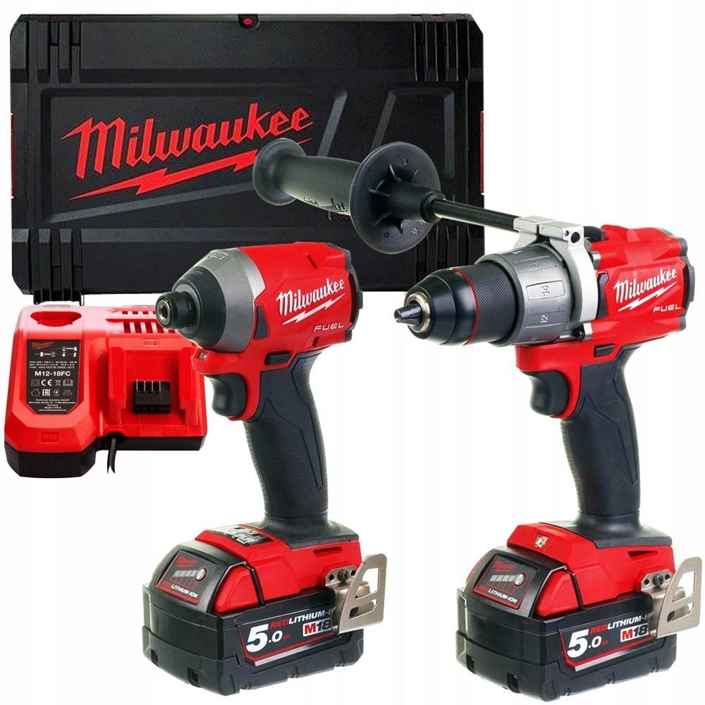 Milwaukee M18 FPD2 + M18 FID2 zestaw combo Marka Milwaukee