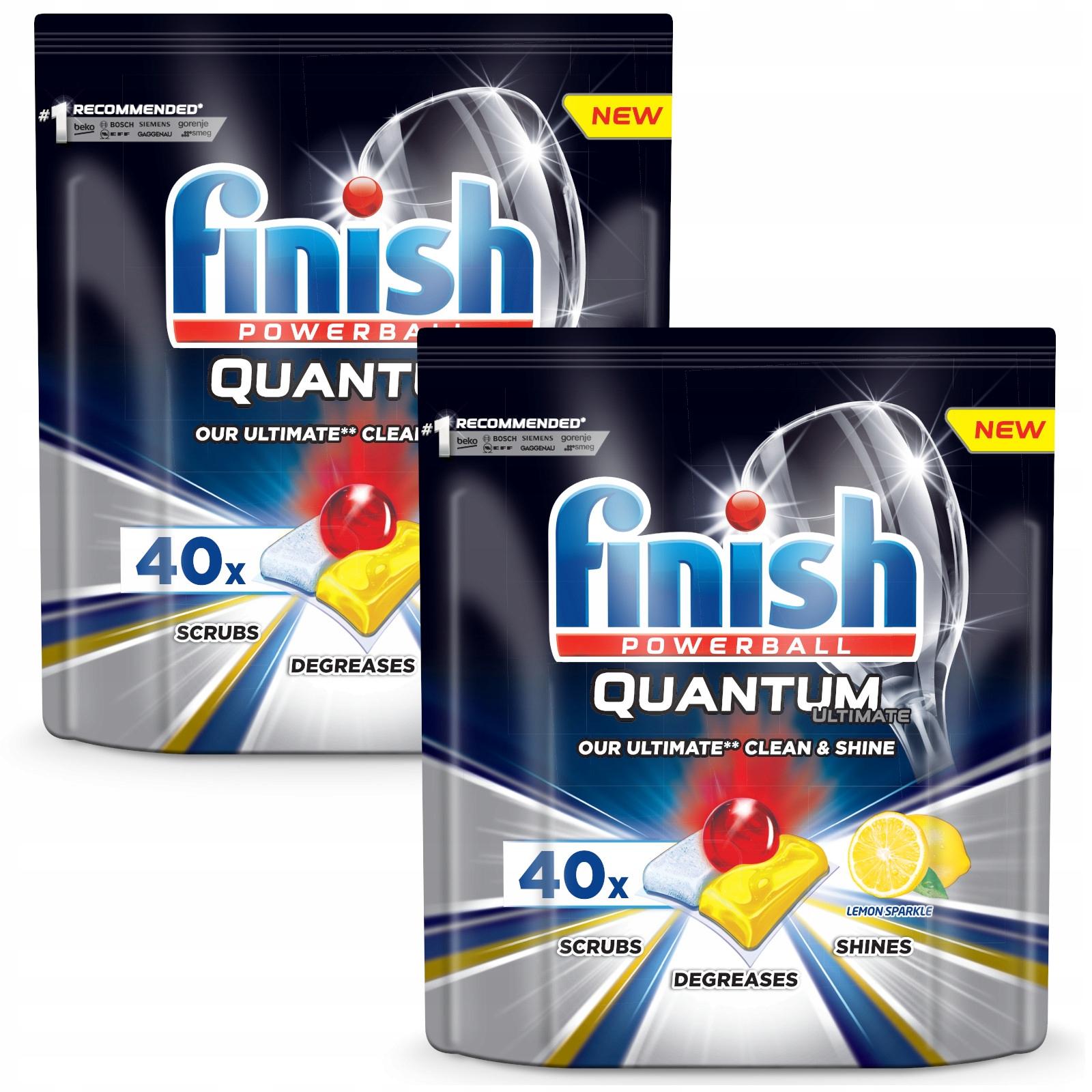 Finish Quantum Ultimate Таблетки для посудомоечной машины Lemon XL