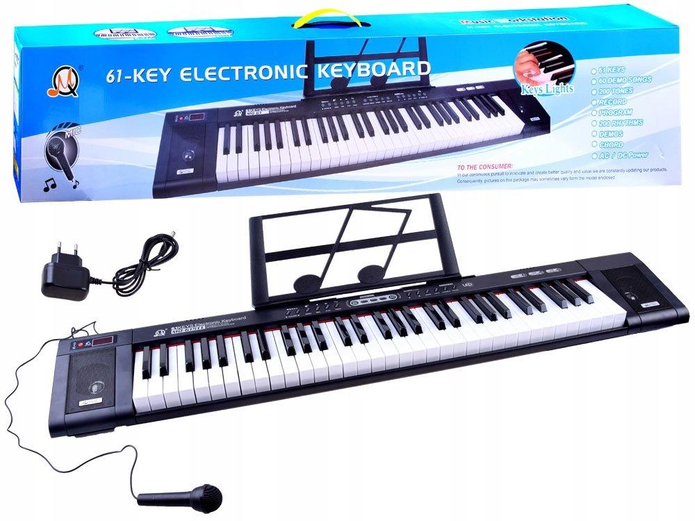 Organy MQ6151L 61 podświetlane klawisze IN0124 Kod producenta IN0124