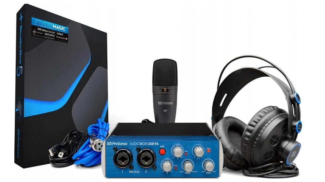 Presonus Audiobox USB 96 Studio Recording Set