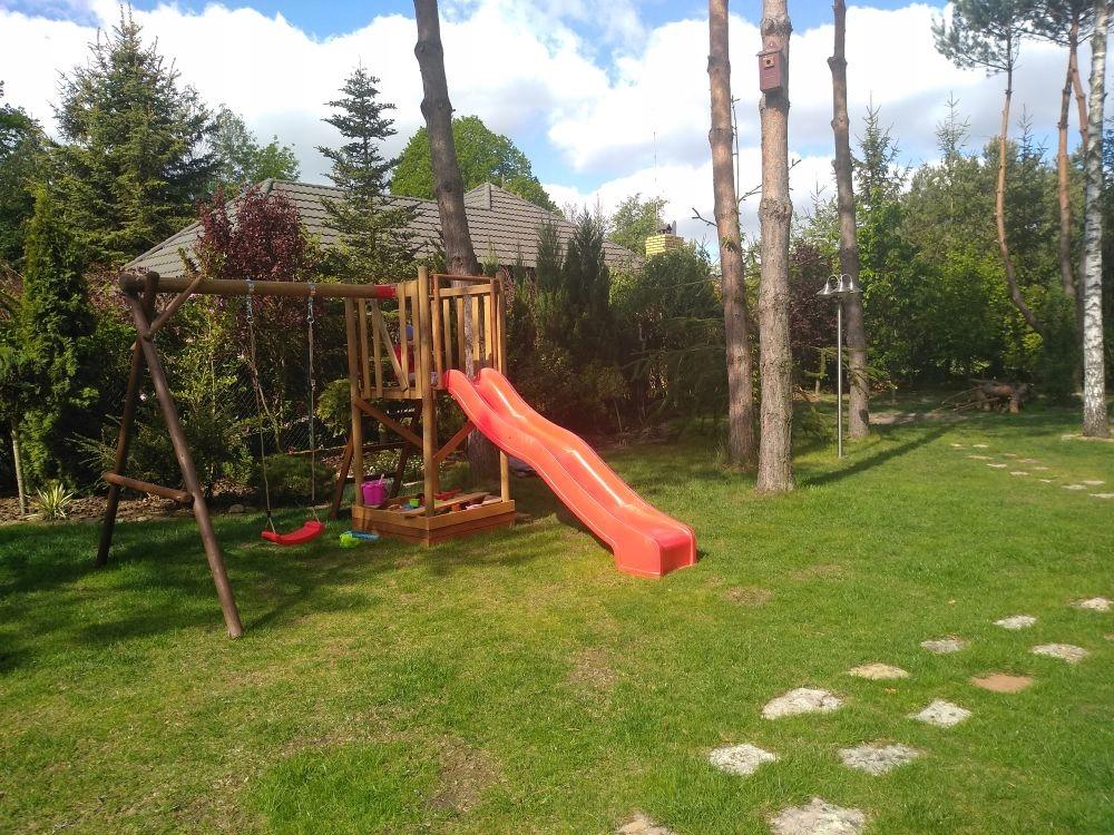 Detské ihrisko hojdačka FRANEK Swing Slide Tower Vek dieťaťa od 3 rokov