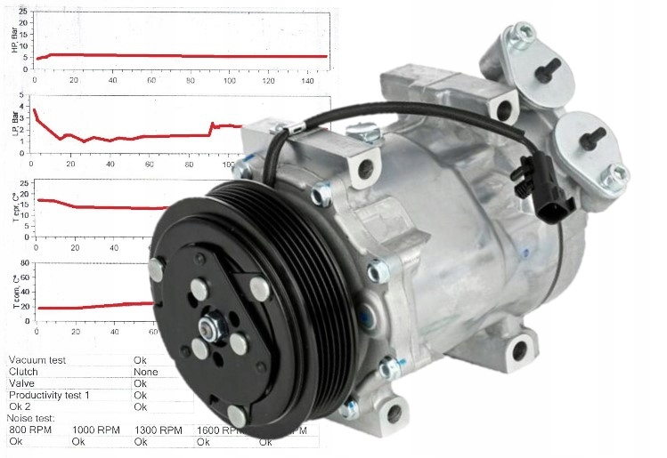 компрессор кондиционирования воздуха 3m5h-19d629-ke проверено