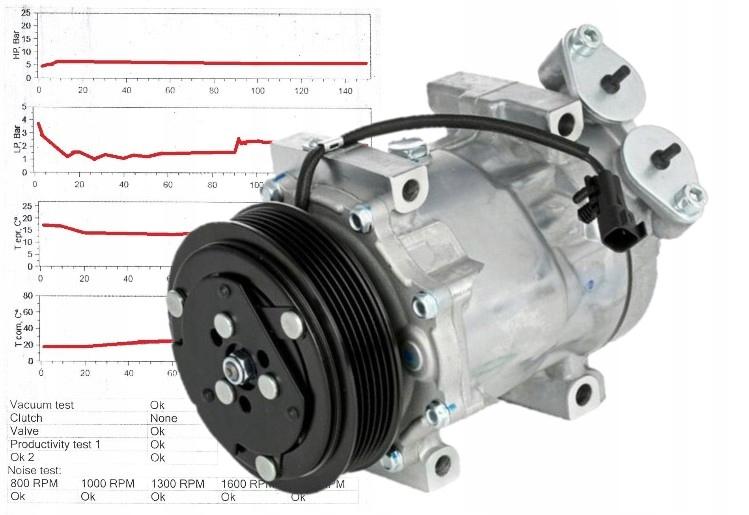 компрессор кондиционирования воздуха 3m5h-19d629-sa проверено