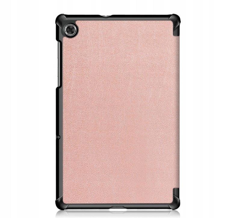 Etui do Lenovo Tab M10 Plus 10.3 Rose Gold + Szkło Pasuje do modelu Lenovo Tab M10 Plus 10.3