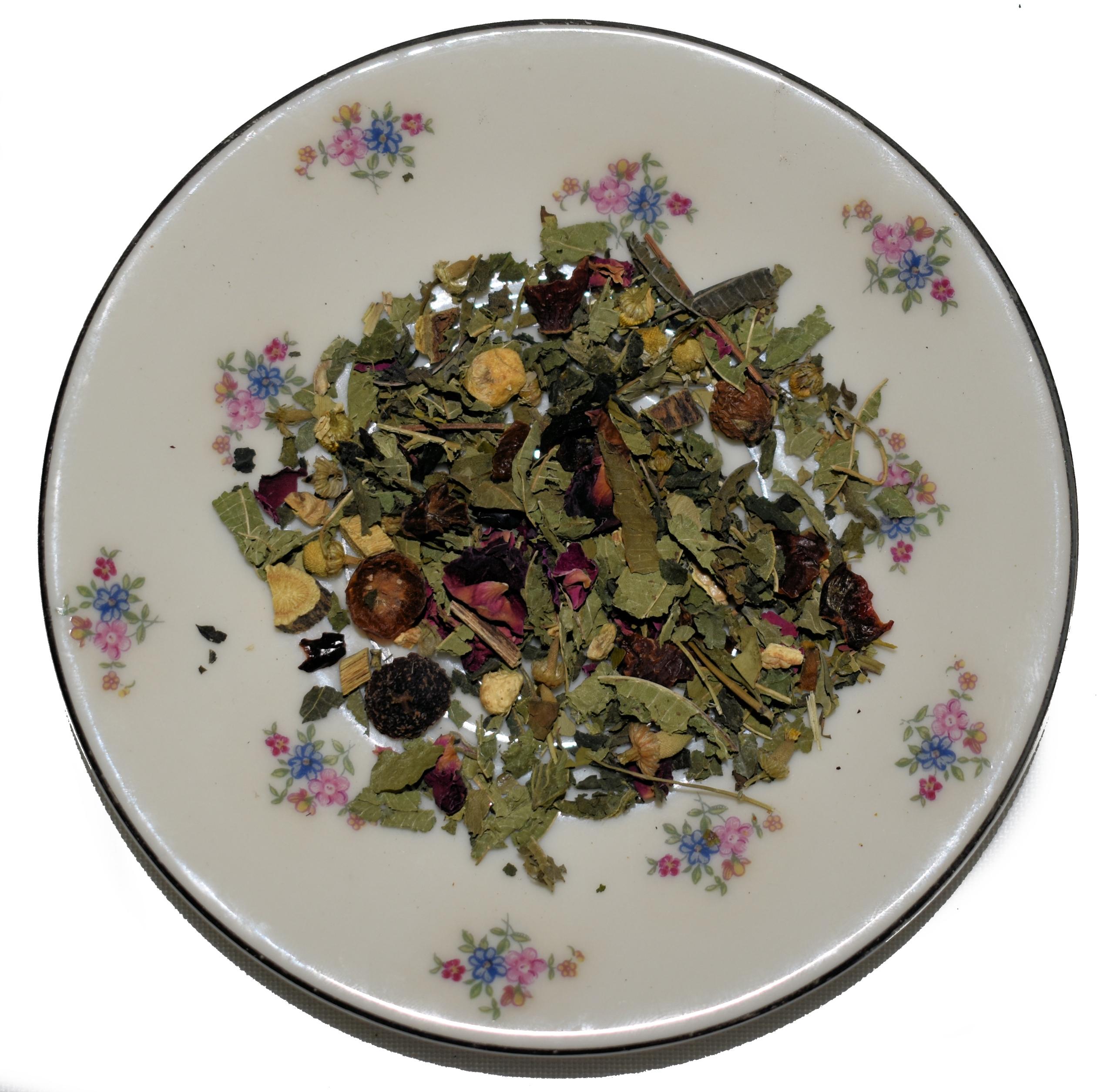 Купить Чай для плоского живота, смесь трав с мате 100 г на Otpravka - цены и фото - доставка из Польши и стран Европы в Украину.