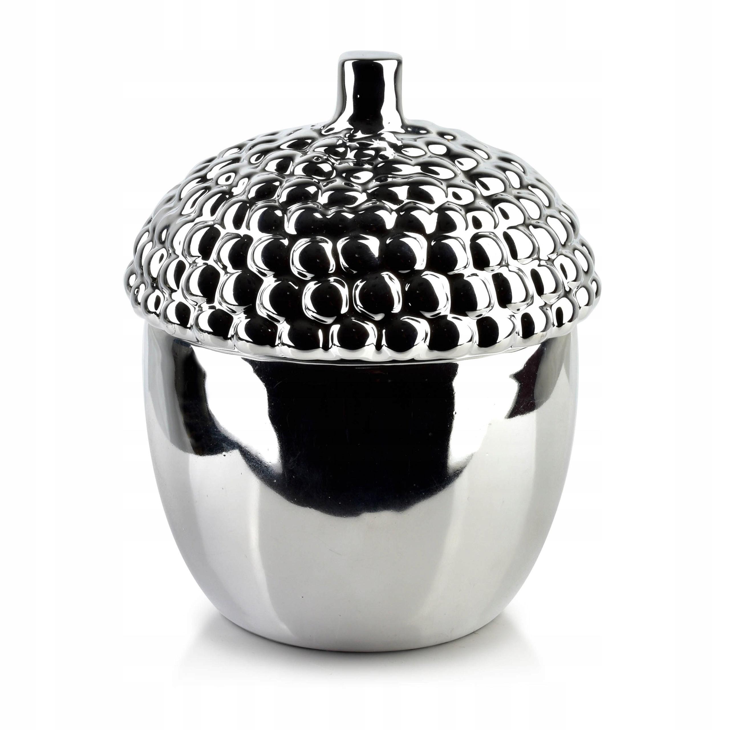 РОЖДЕСТВЕНСКИЙ керамический декор. Контейнер для желудей.