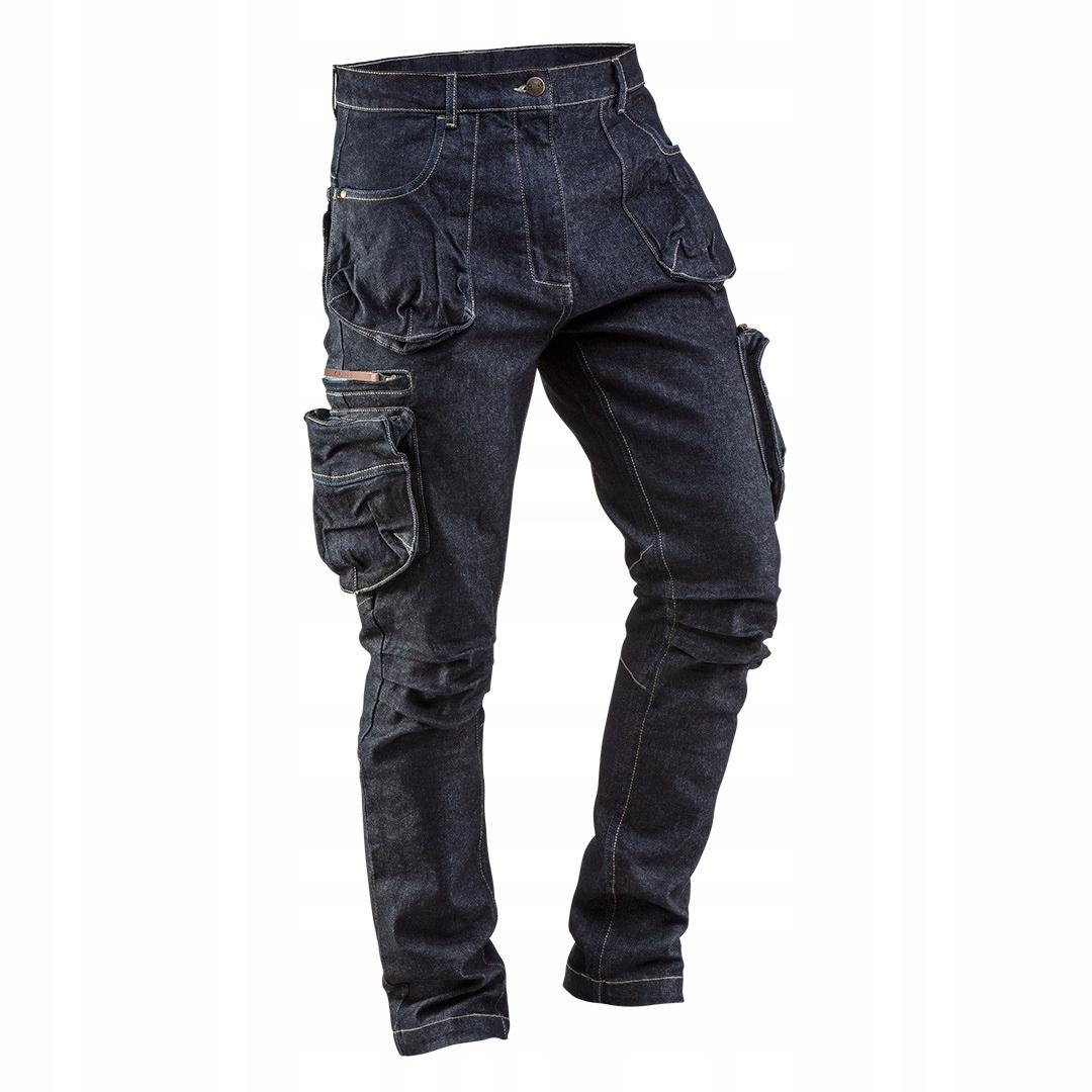 NEO Spodnie robocze DENIM dżinsowe 81-229 r. XS