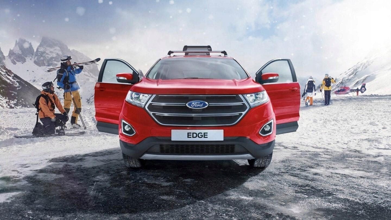 ford edge 2015 - капот кришка двигуна stalowa, фото
