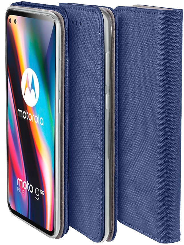 Etui do Motorola Moto G 5G Plus Case Magnet +Szkło Dedykowany model MOTO G 5G PLUS