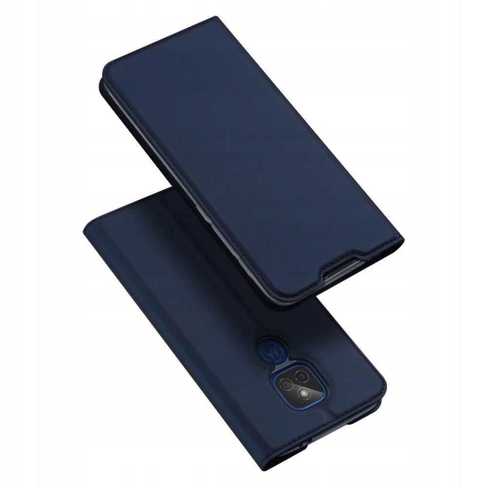 Etui Granat + szkło do Motorola G9 Play / E7 Plus Dedykowany model G9 Play / E7 Plus