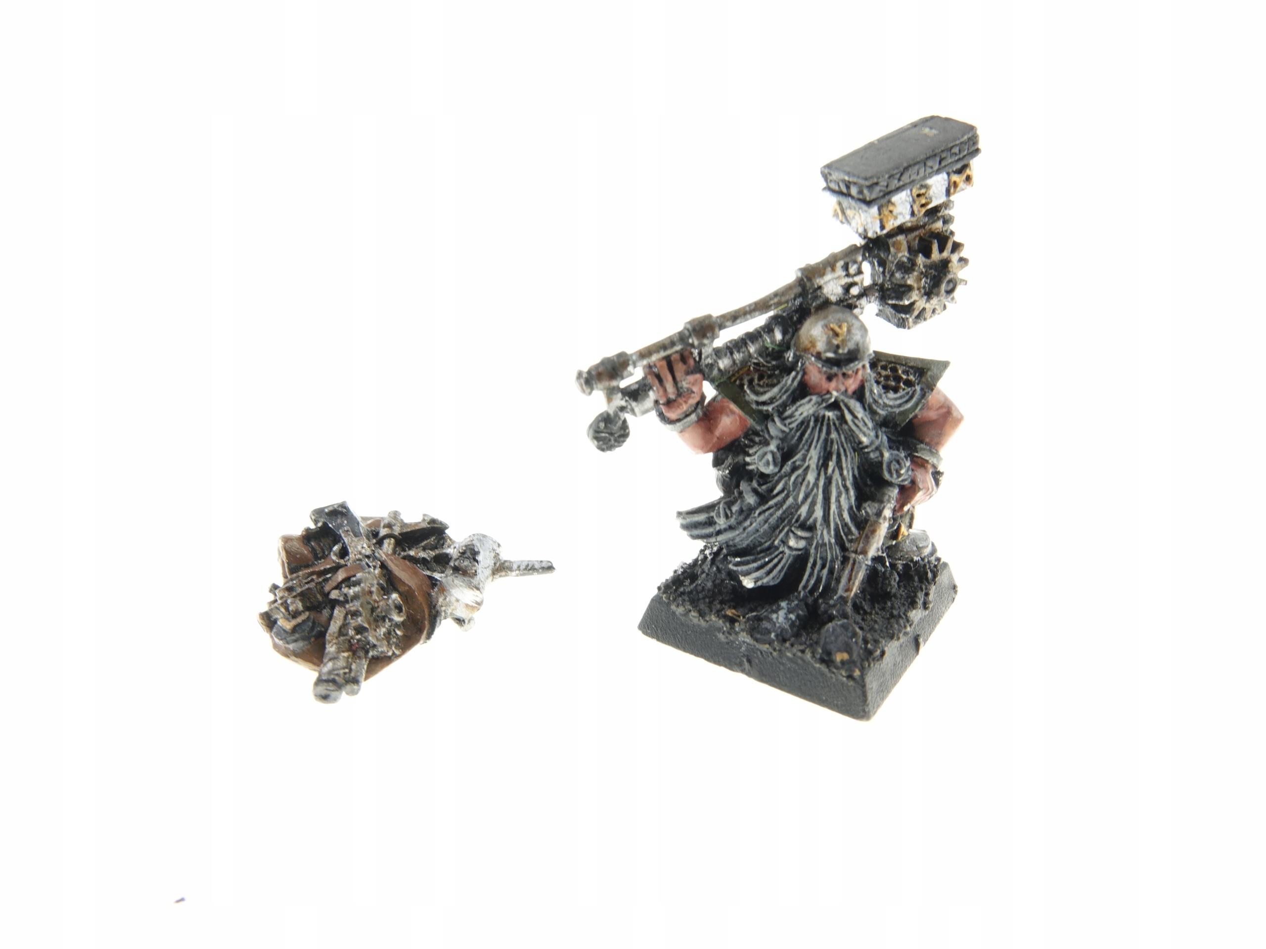 Warhammer Dwarf Master Engineer Metal Obrázok