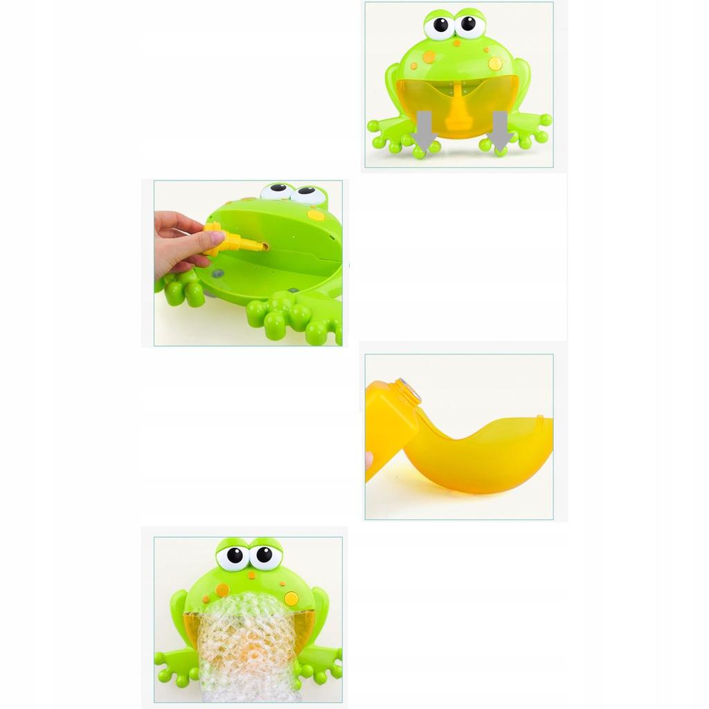 Żaba bąbelkowa do robienia piany żabka 1111-19 Waga produktu z opakowaniem jednostkowym 0.3 kg