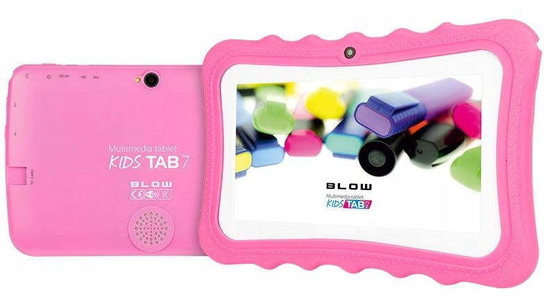 BLOW Tablet KidsTAB7.4HD2 quad pink + puzdro