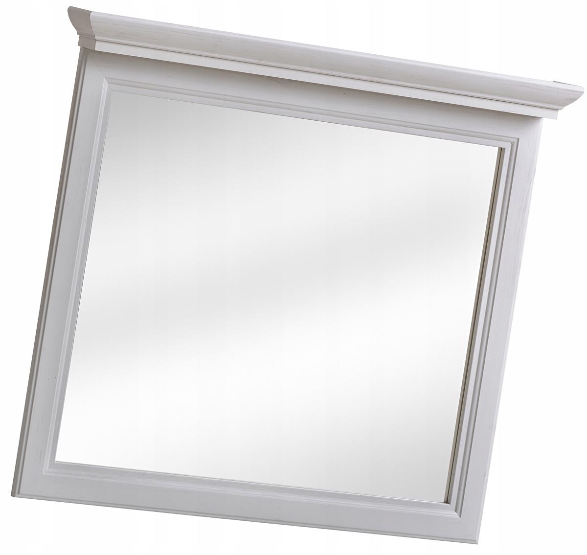 Zrkadlo do bielej kúpeľne, retro štýl 85x76
