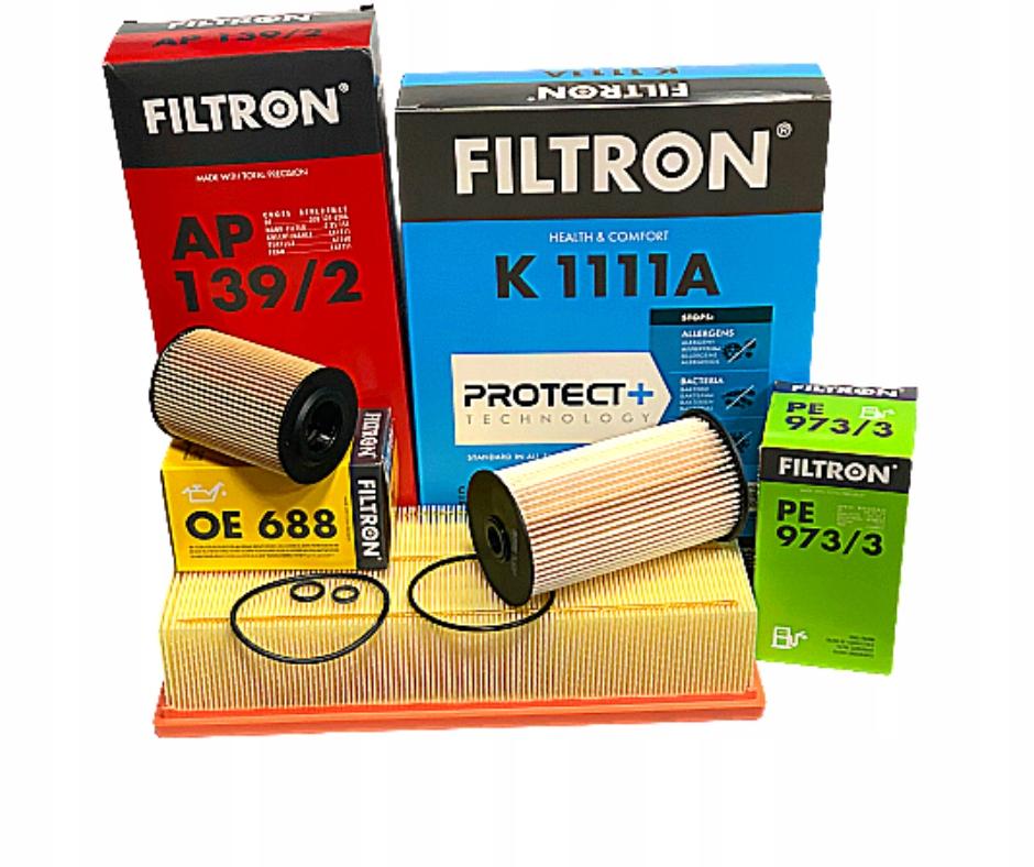 комплект фильтры filtron skoda superb octavia 16tdi