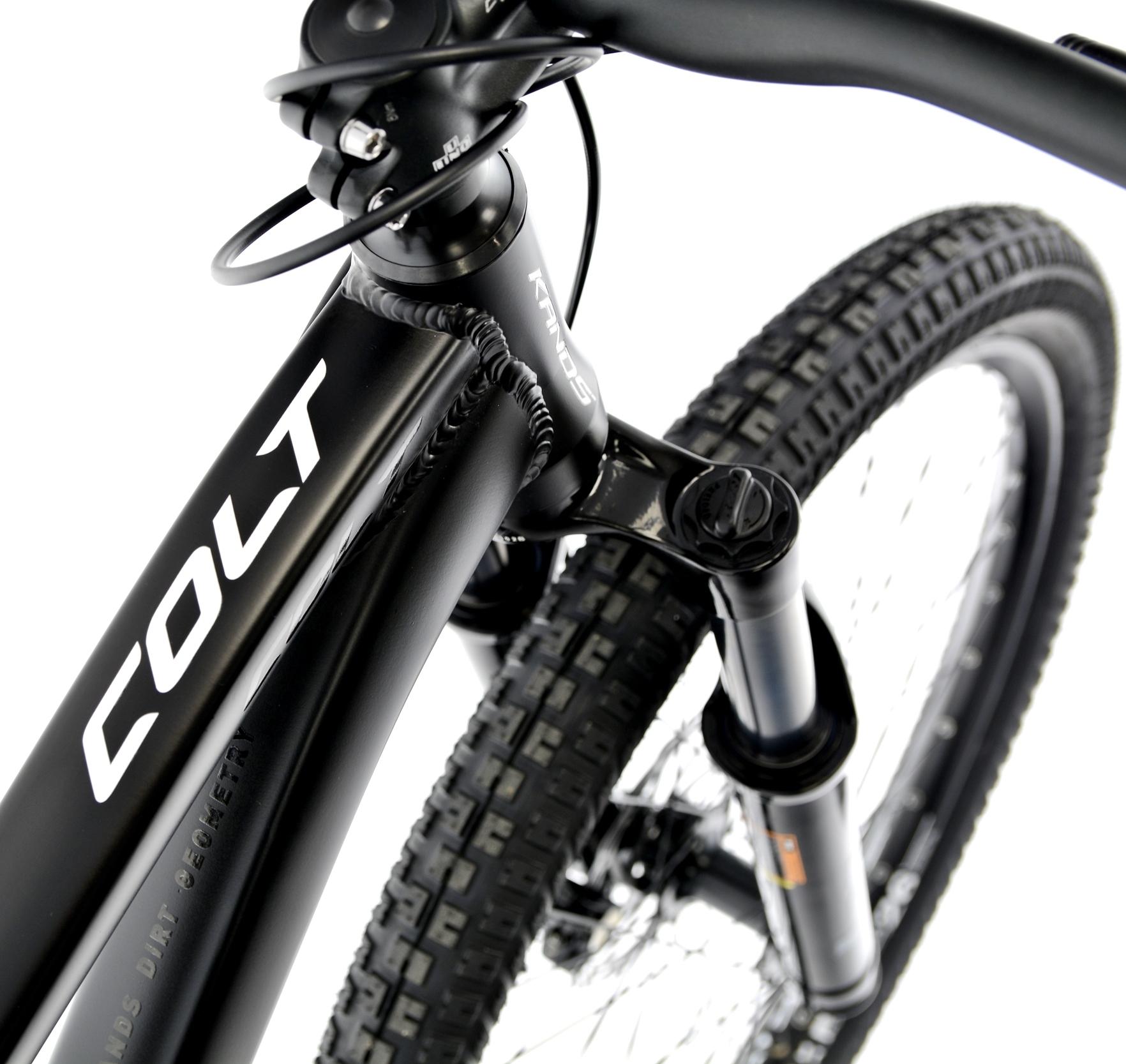 Rower Kands 26 DIRT COLT V2 13 CZARNY R21 Hamulce tarczowe hydrauliczne tarczowe mechaniczne