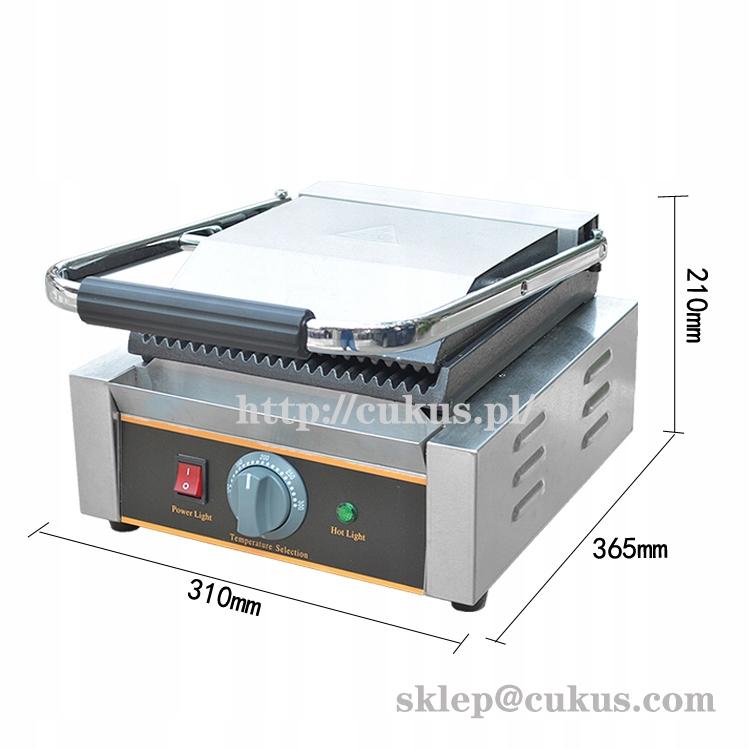 Grill elektryczny profesjonalny gastronomiczny Zasilanie grilla elektryczny