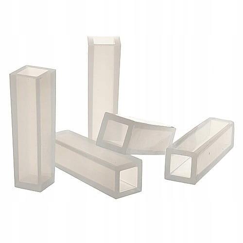 BFS17 Форма силиконовая для смол квадрат .14x14x49mm