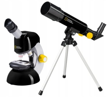 National Geographic - Telescope - Bresser mikroskop