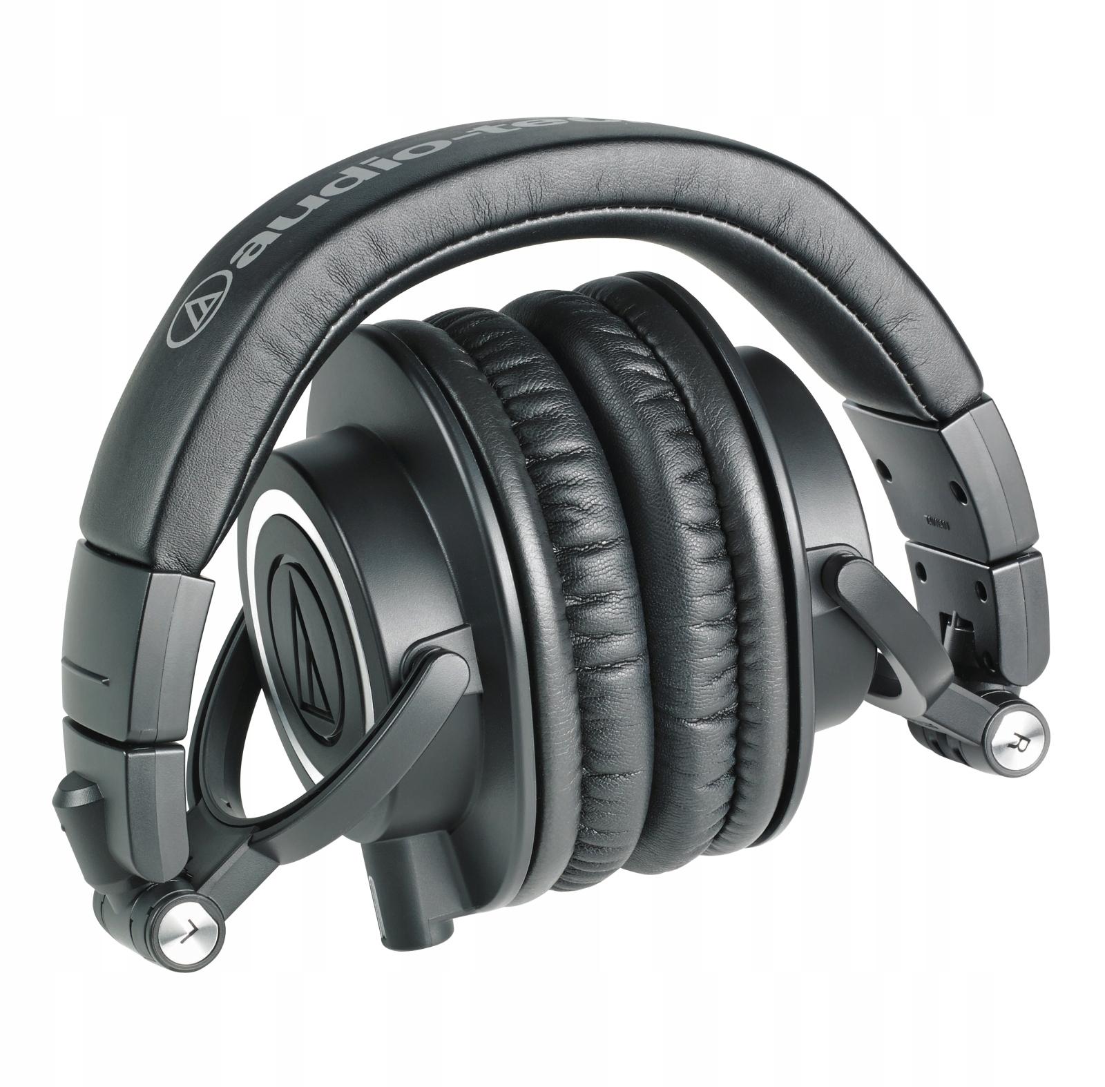 AUDIO-TECHNICA ATH-M50X Słuchawki zamknięte + AKC Waga produktu 284 g