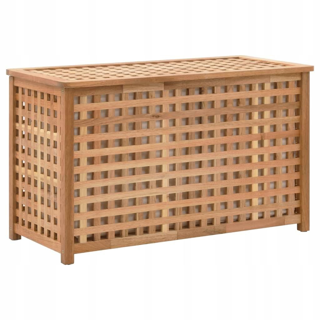 Krabica na prádlo, 77,5x37,5x46,5 cm, masívne drevo