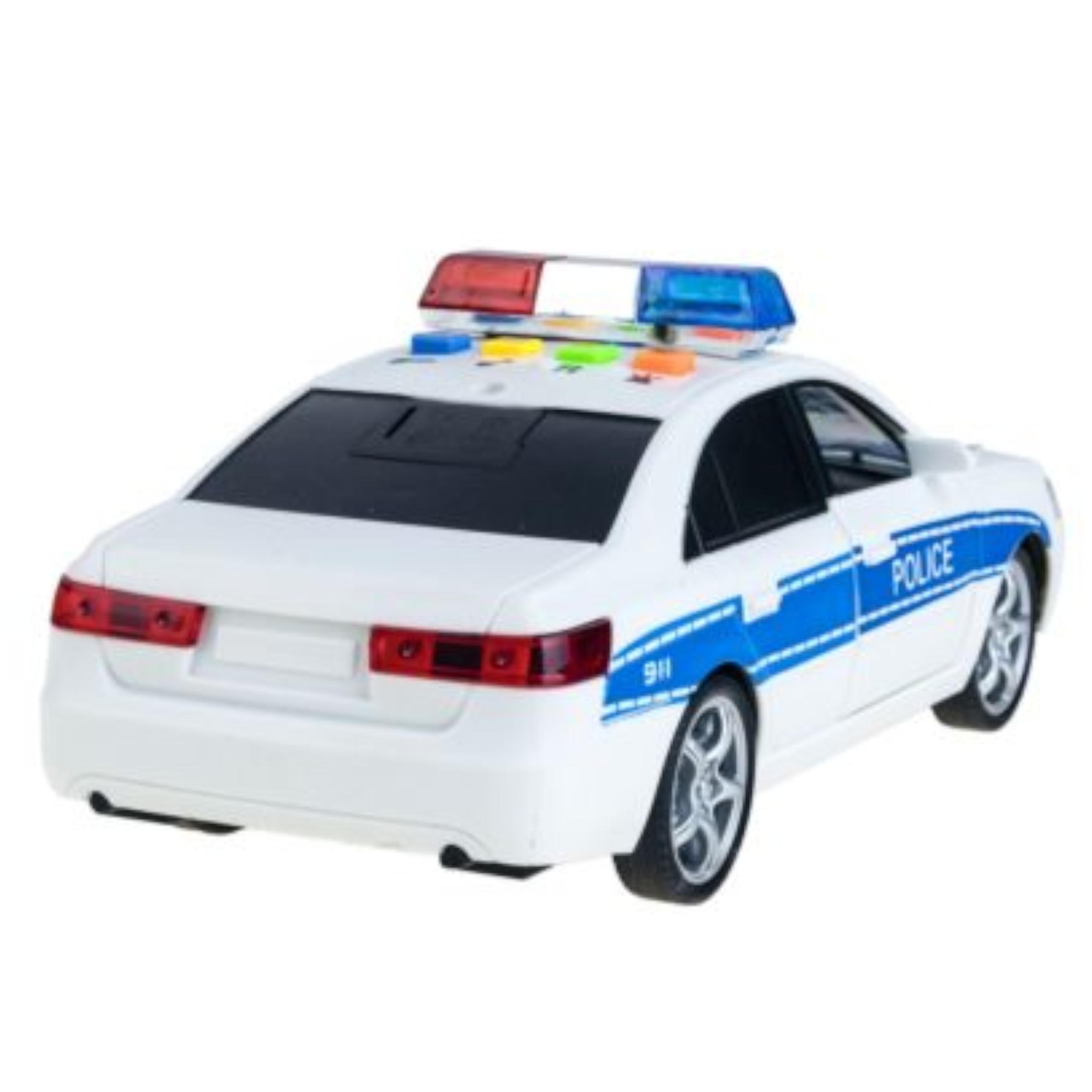 Samochód policyjny otwierane drzwi dźwięki WY560A Bohater brak