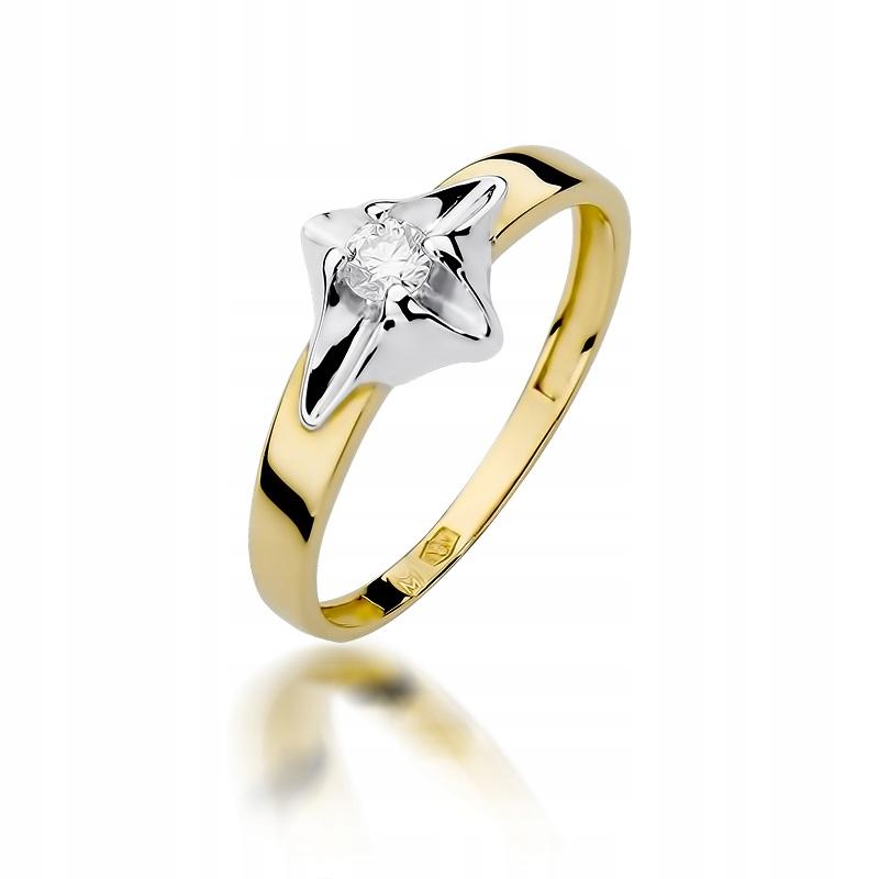 Krúžok diamant 585 RYTEC ZADARMO